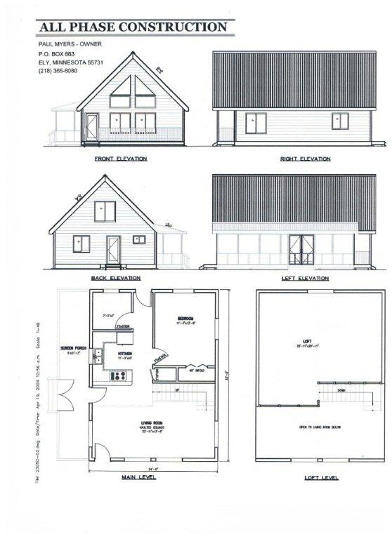 16 x 24 cottage plans joy studio design gallery best for 16 x 32 cabin floor plans