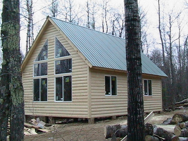 Cabin Construction Ely Tower Vermillion Lake Babbitt MN
