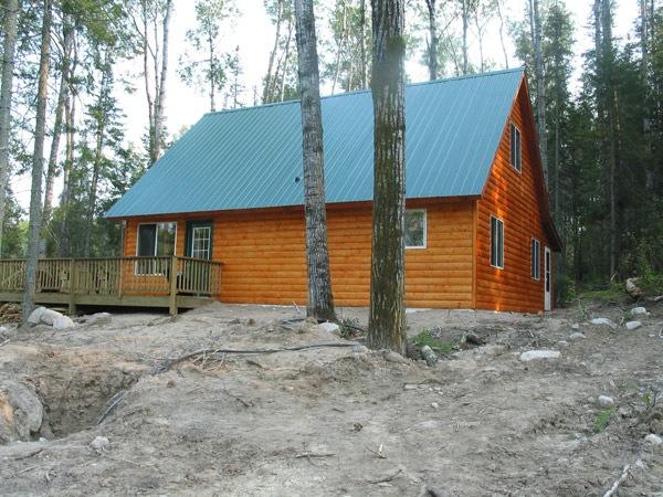 Cabin Construction Ely Tower Vermillion Lake Babbitt Mn