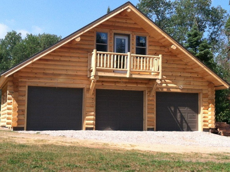 Log Cabin Garage Kits Quotes